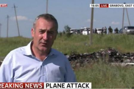 MH17 victim's family to Sky News: Footage was sick