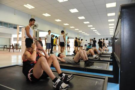 IPPT bar set too low with pull-ups scrapped?