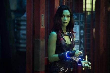 Zoe Saldana mixes sexy and deadly with heart in Guardians Of The Galaxy
