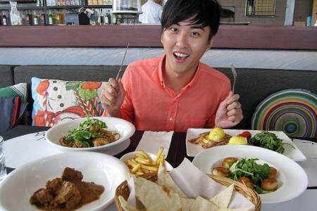 Atmosphere? Food is more important, says Huang Jinglun