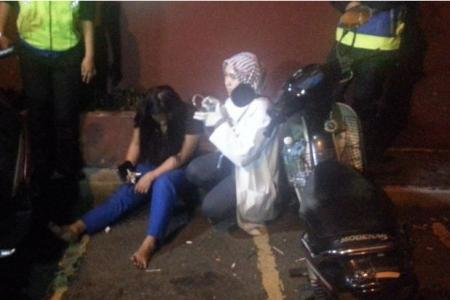 Woman claimed she was 'sleepwalking', not fleeing from police