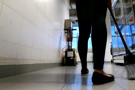 Maid worked 17-hour-days for two years with no pay