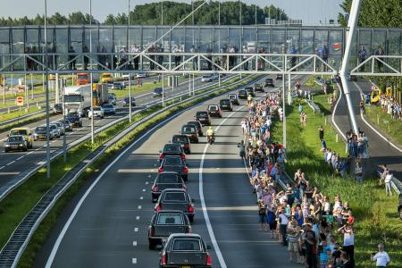Victims of MH17 return to Netherlands