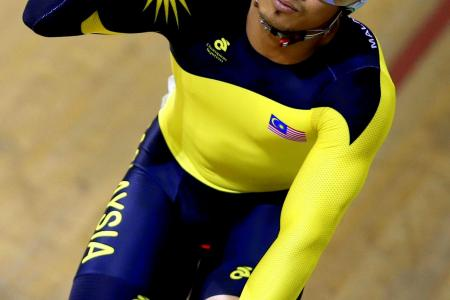 CGames: Malaysian cyclist warned over 'Save Gaza' gloves