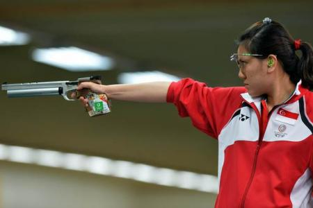 Shooter wins Singapore's first CGames gold