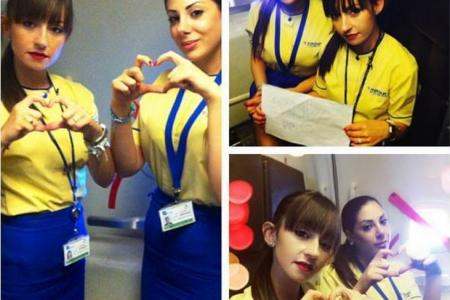 Gallery: Flight crews show support for MH17