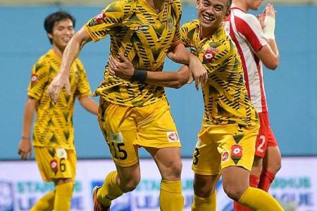 DPMM set sights on treble after League Cup victory