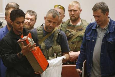 Ukraine: Black boxes show MH17 shot down