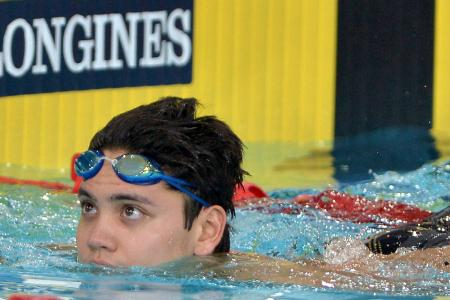 Schooling finished last in 200m fly final because of cramps