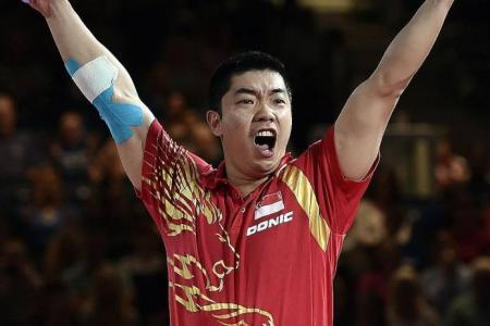 Zhan Jian stars in men's team gold victory