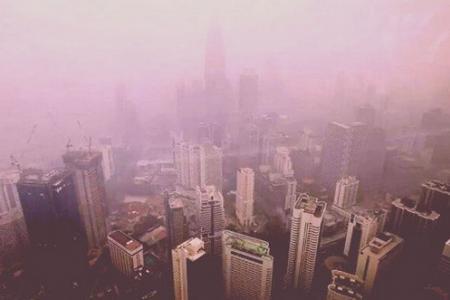 The haze returns to Malaysia