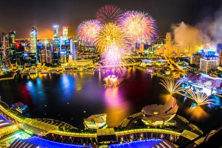 For this view of NDP fireworks, some pay... $2,000