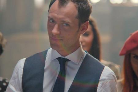 Watch Jude Law dance in charming Johnnie Walker ad