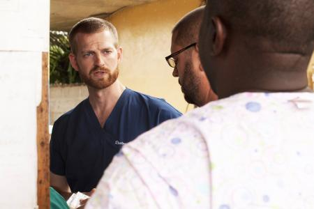 Selfless act: Ebola-stricken doctor offered life-saving dose to sick colleague