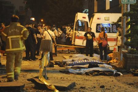 UPDATE: 24 dead in Taiwan gas blast