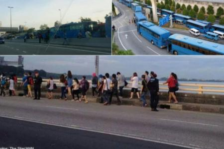 UPDATE: Striking M'sian drivers threaten huge protest again
