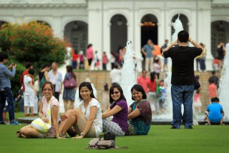 Istana open to public today