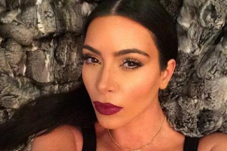Kim K sends topless pic to friend for his birthday