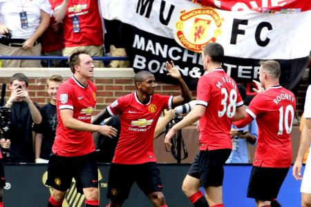 Young's brace lifts Man Utd to 3-1 win over Real