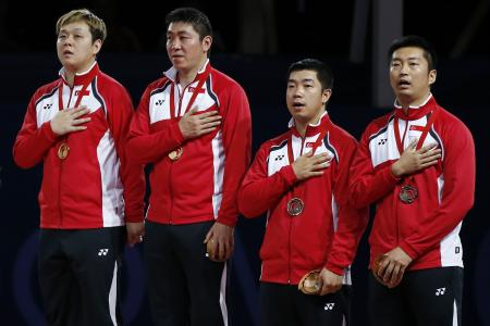 Singapore finish with six-gold medal haul