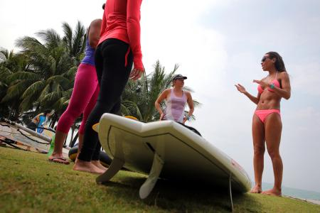 What's SUP yoga?