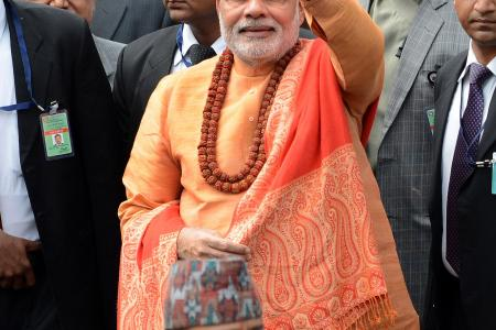 Indian PM reveals Nepalese foster son