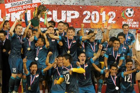 Lions drawn against M'sia, Thailand in Suzuki Cup