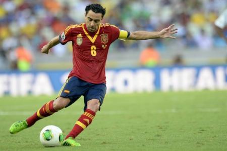Xavi retires from international football
