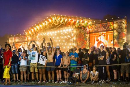 GALLERY: Muddy fun at Poland's Woodstock festival