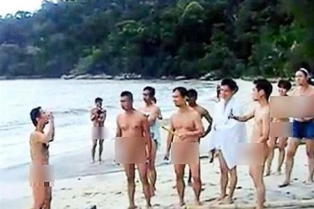 Four Singaporeans involved in that nudist video