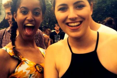 Malia Obama spotted at concert thanks to beefy bodyguards