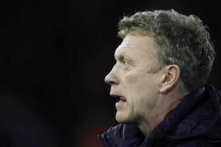 David Moyes watches from the stands as Celtic crash out of Champions League