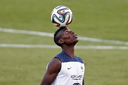 Juve's Pogba looking to create history in S'pore