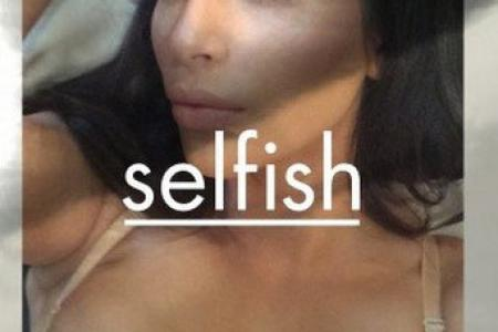 Really? Kim Kardashian names her new selfie book Selfish