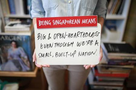 What does it mean to be Singaporean?