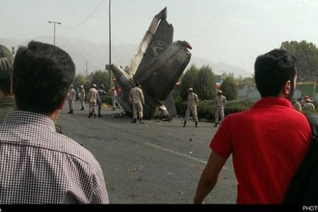 UPDATE Passenger plane crashes in Tehran