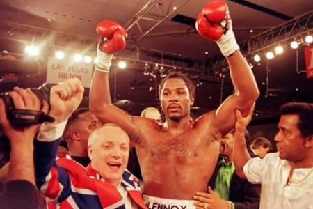 Sex-change surprise from Lennox Lewis' boxing promoter