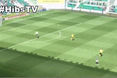 Hibernian 'keeper scores long-range goal in dream debut