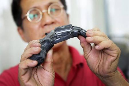 Exclusive peek into Singapore's top prop gun-maker's world
