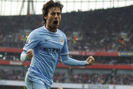 Manchester City set for more Silva service