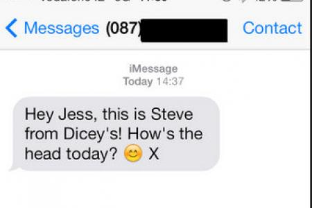 Wrong number, guy's flirting texts get broadcast on Twitter