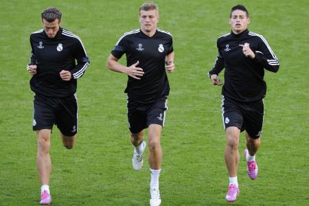 James Rodriguez set to start for Real against Sevilla