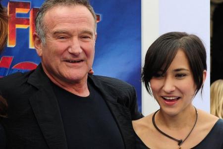 Robin Williams' daughter Zelda: I feel stripped bare