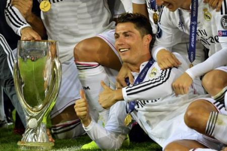 Ronaldo scores 2 goals as Real Madrid wins the Super Cup