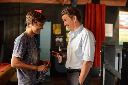 Ethan Hawke talks about movie that follows boy from childhood to teens