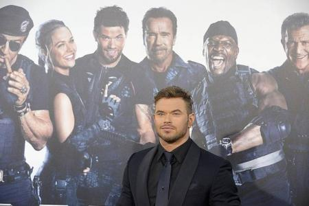 The Expendables 3 newbie Kellan Lutz finding success after Twilight