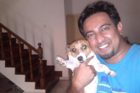 12 days later, man reunited with dog that car thieves had taken
