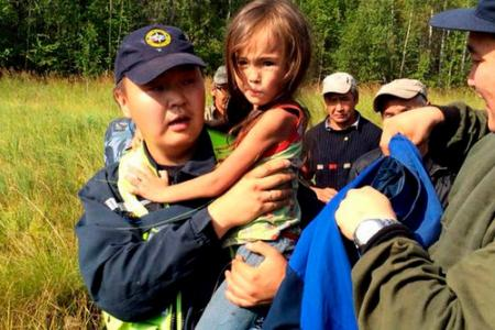 Girl, 3, survives 11 days in Siberian forest. Her puppy led rescuers to her