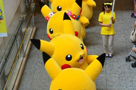 'Pikachus' here, there and everywhere!
