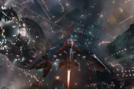 That planet in Guardians of the Galaxy? It's based on Singapore